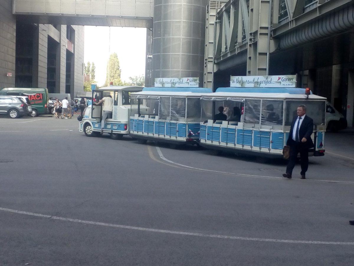 Bologna výstava - preprava osôb Buonavia